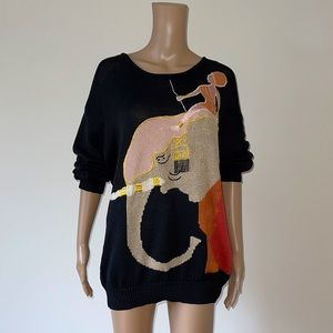 VINTAGE | Ouiset knit sweater